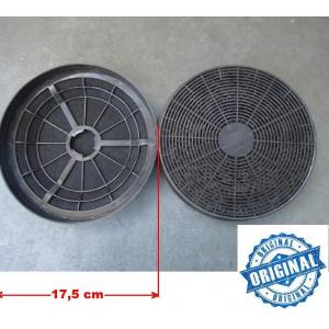 Filtro De Carvão Ativado - Coifas Tramontina 17,5 Cm - Par